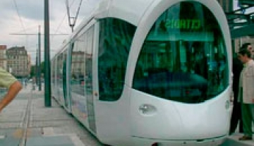 T3 Tramway line extension of Lyon